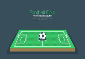 Fond de terrain de football vecteur