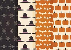 Motifs vectoriels d'Halloween vecteur