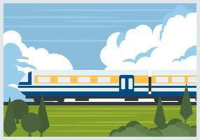 Train Tgv vecteur
