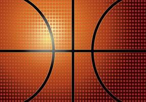 Texture de basketball vecteur