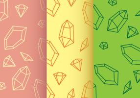 Modèle de strass diamant vecteur
