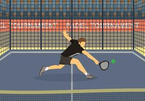 Illustration Padel gratuite