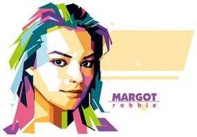 Margot robbie - vie de Hollywood - wpap vecteur