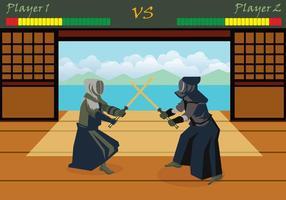 Illustration gratuite de Kendo vecteur