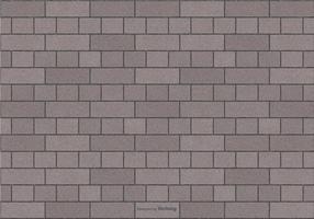 Fond gris de motif de brique vecteur