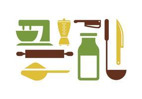 Outils de cuisine pt. 2 vecteur