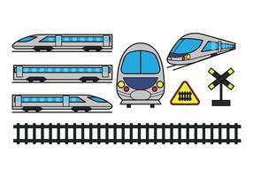 Icônes TGV vecteur