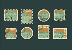 Vecteur de timbres petra