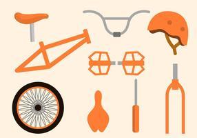 Collections de vecteurs de vélo gratuits vecteur