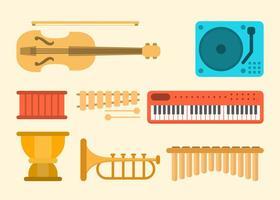 Collection de vecteur de musique gratuite