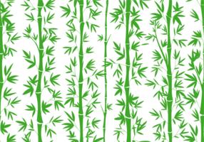 Motif transparent en bambou vecteur