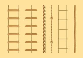 Vecteur libre d'échelle de corde