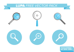 Pack gratuit de vecteur Lupa