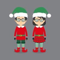 couple portant des costumes elfes