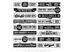 Vecteur de collection de coupons