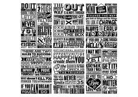 Vector de collage de positivité