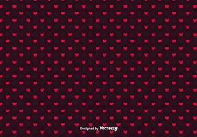 Motif minimaliste des vecteurs de coeurs