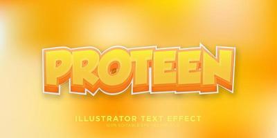 effet de style illustrateur effet de texte vecteur