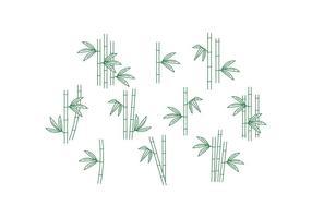 Vecteur de bambou gratuit