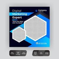 bannière de marketing d'entreprise numérique