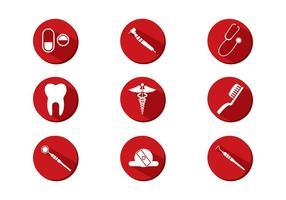 Dentista Icône Vecteur libre