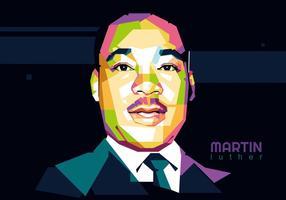 Martin Luther King jr. Wpap vecteur