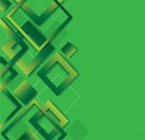 design tendance dégradé de diamant vert moderne vecteur