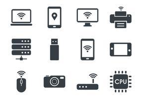 Tecnologia Icons vecteur