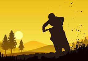 Bike Trail vecteur libre