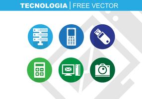 Tecnologia vecteur libre