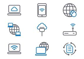 Internet Icons vecteur