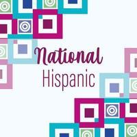conception du mois national du patrimoine hispanique