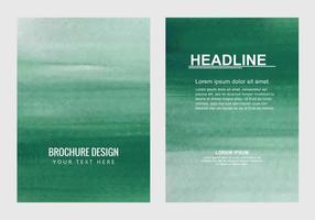 Vecteur libre Brochure d'affaires