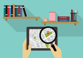 Lupa Search Pad Vecteur libre