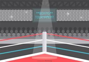 Vecteur libre Ring Wrestling Illustration