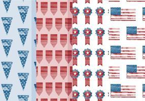 Vector Patterns 4 juillet