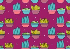 Plantes en pot Contexte vecteur