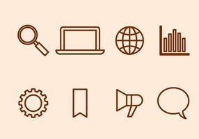 Vecteur d'optimisation de moteur de recherche gratuit