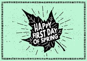 Fond d'écran gratuit Hello Spring vecteur