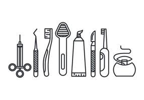Instruments de vecteur dentaire