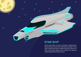 Starship Contexte vecteur