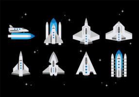 Starship vecteur libre