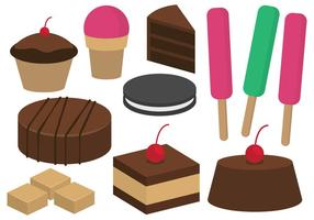 Desserts et Confiseries Illustration