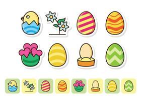Pâques gratuit Icon Set
