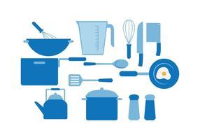 Cuisiner vecteur libre