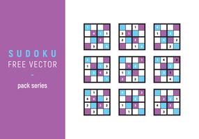 Sudoku Illustration Vecteur libre