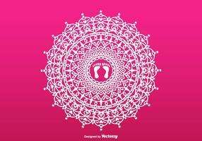 Lakshmi Free Vector Rangoli
