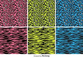 Animal Print Vector Patterns