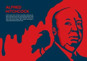 Dramatic Contexte Hitchcock vecteur