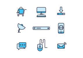 Icônes Internet gratuites